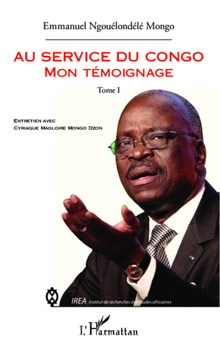 Couverture Au service du Congo (Tome 1)