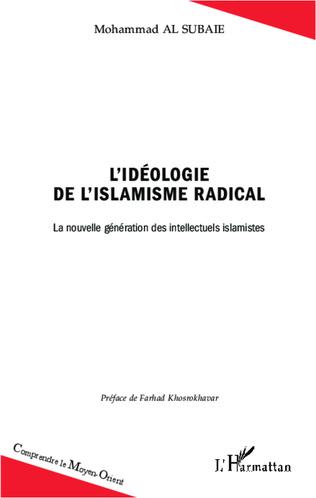 Couverture L'idéologie de l'islamisme radical