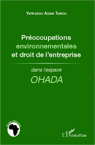 Couverture Préoccupations environnementales et droit de l'entreprise