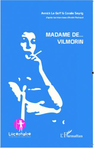 Couverture Madame de Vilmorin