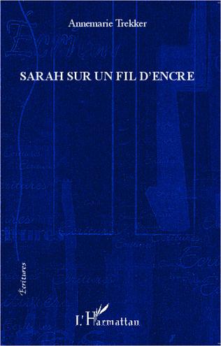 Couverture Sarah sur un fil d'encre