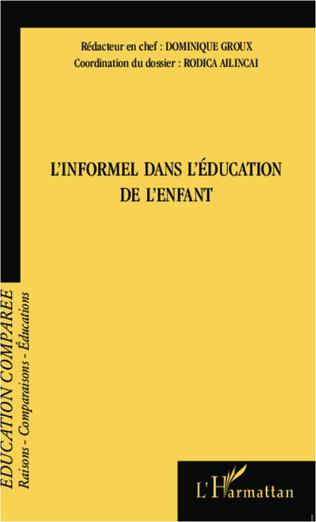 Couverture L'informel dans l'éducation de l'enfant