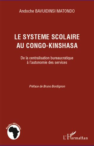 Couverture Le système scolaire au Congo-Kinshasa