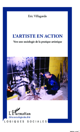 Couverture L'artiste en action