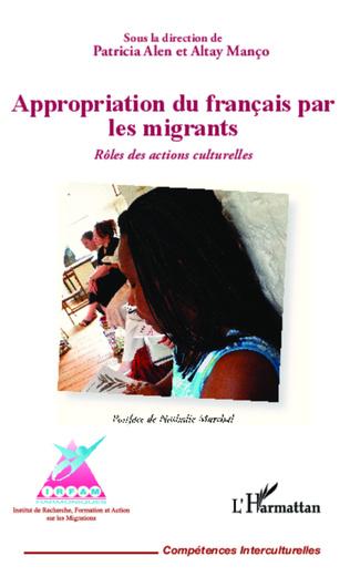 Couverture Appropriation du français par les migrants