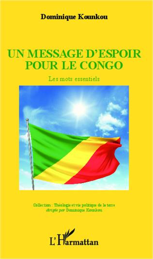 Couverture Un message d'espoir pour le Congo