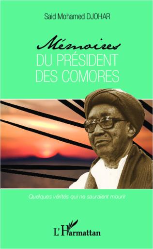 Couverture Mémoires du président des Comores