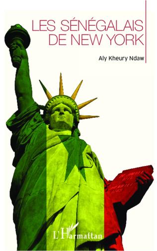 Couverture Les Sénégalais de New-York