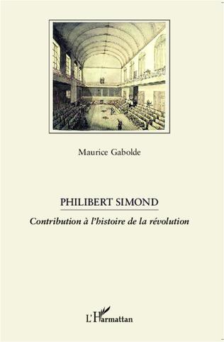 Couverture Philibert Simond