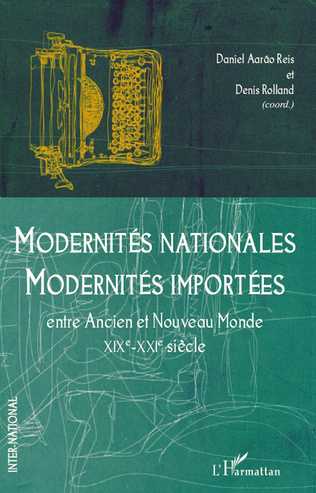 Couverture Modernités nationales, modernités importées