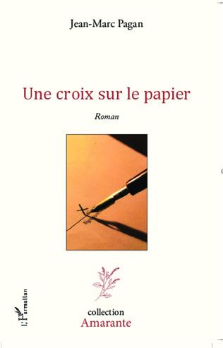 Couverture Une croix sur le papier