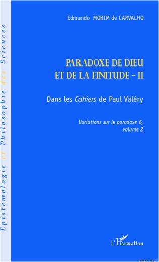 Couverture Paradoxe de dieu et de la finitude (Volume 2)