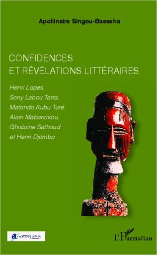 Couverture Confidences et révélations littéraires