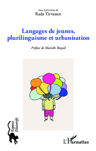 Couverture Langages de jeunes, plurilinguisme et urbanisation