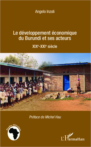 Couverture Développement économique du Burundi et ses acteurs