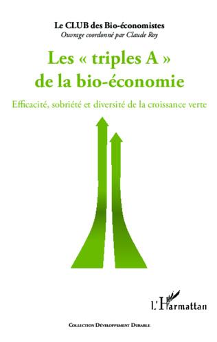 Couverture Triples A de la bio-économie