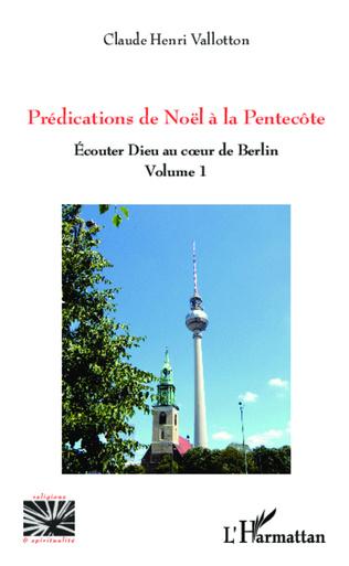 Couverture Prédications de Noël à la Pentecôte
