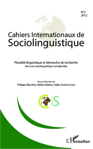 Couverture Pluralité linguistique et démarche de recherche