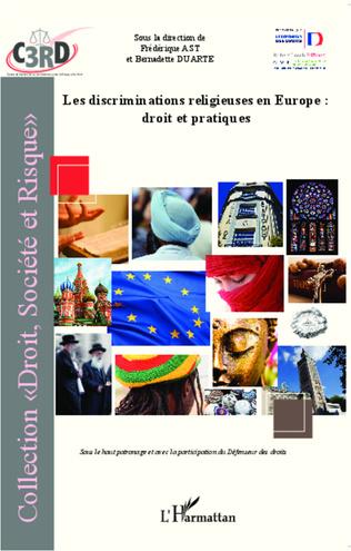 Couverture Discriminations religieuses en Europe : droit et pratiques