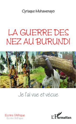 Couverture La guerre des nez au Burundi