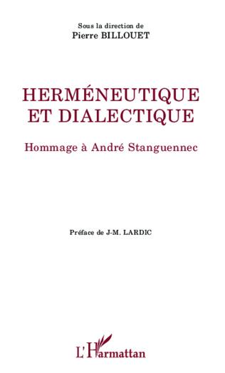 Couverture Herméneutique et dialectique