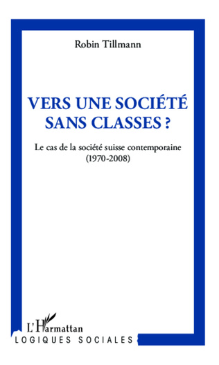 Couverture Vers une société sans classe ?
