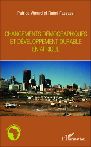 Couverture Changements démographiques et développement durable en Afrique