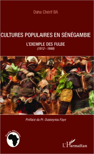Couverture Cultures populaires en Sénégambie