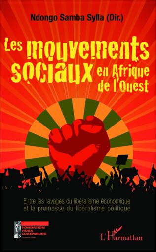 Couverture Les mouvements sociaux en Afrique de l'Ouest