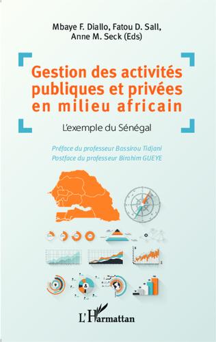 Couverture Gestion des activités publiques et privées en milieu africain