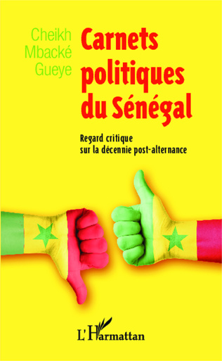 Couverture Carnets politiques du Sénégal