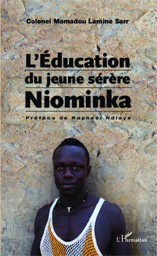 Couverture L'Education du jeune sérère Niominka