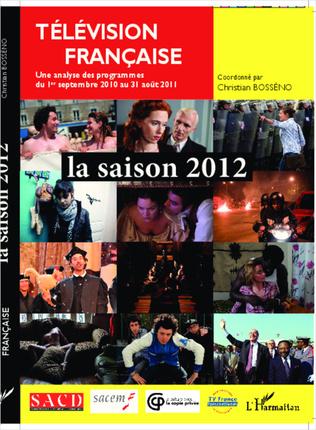 Couverture Télévision française la saison 2012