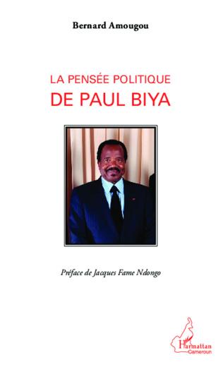 Couverture Pensée politique de Paul Biya