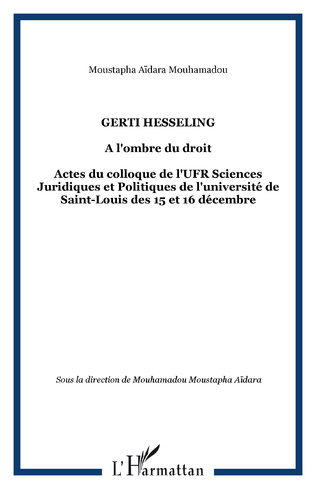Couverture Gerti Hesseling