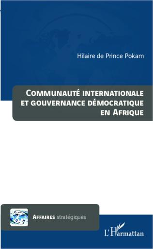 Couverture Communauté internationale et gouvernance démocratique en Afrique
