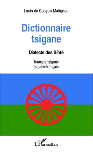 Couverture Dictionnaire tsigane