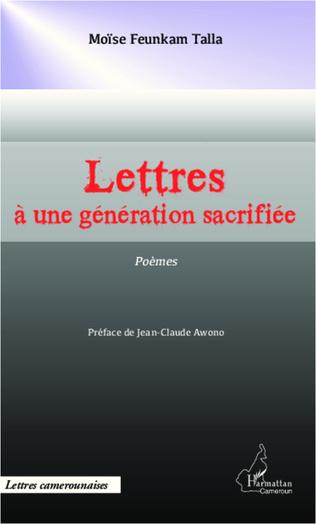 Couverture Lettres à une génération sacrifiée