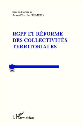 Couverture RGPP et réforme des collectivités territoriales