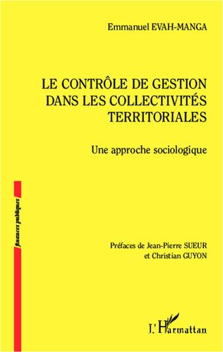 Couverture Le contrôle de gestion dans les collectivités territoriales