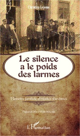 Couverture Le silence a le poids des larmes