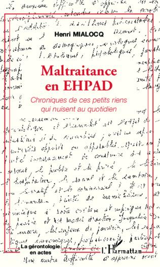Couverture Maltraitance en EHPAD