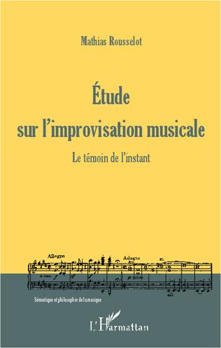 Couverture Etude sur l'improvisation musicale