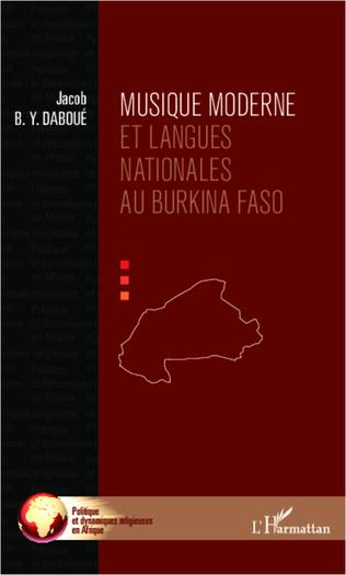 Couverture Musique moderne et langues nationales au Burkina Faso