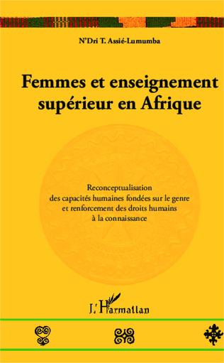 Couverture Femmes et enseignement supérieur en Afrique