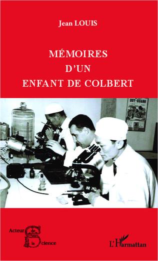Couverture Mémoires d'un enfant de Colbert