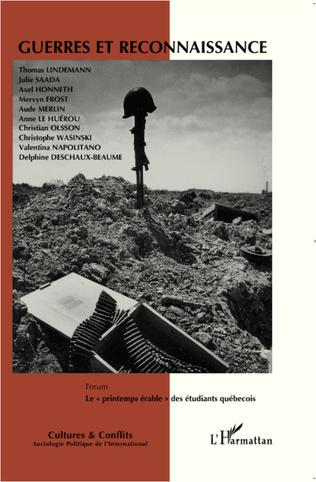 Couverture Guerres et reconnaissance