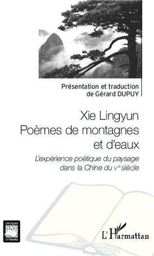 Couverture Xie Lingyun Poèmes de montagnes et d'eaux