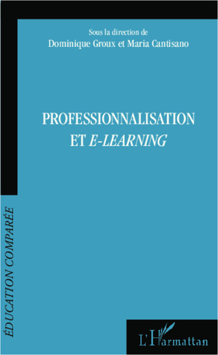Couverture Professionnalisation et e-learning