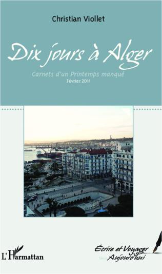 Couverture Dix jours à Alger